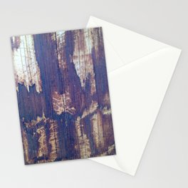 telephone pole grain Stationery Cards