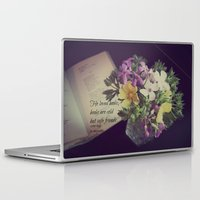 les miserables Laptop & iPad Skins featuring Books Les Miserables by KimberosePhotography