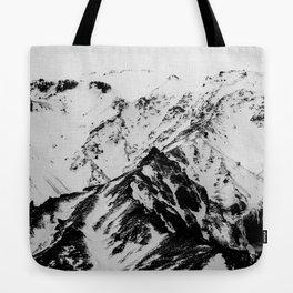 Minimalist Mountains Tote Bag