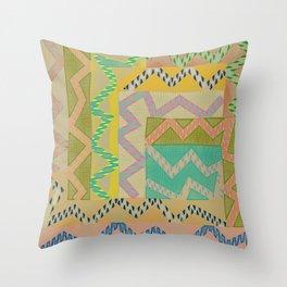 Color Brood Throw Pillow