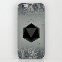 xbox iPhone & iPod Skins featuring City Intruder by Zavu