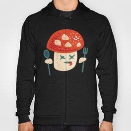 Funny Cartoon Poisoned Mushroom Hoody