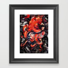 Empress Octo Framed Art Print