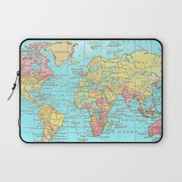 Map of the World Laptop Sleeve