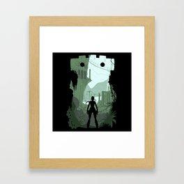 Lara Croft Framed Art Print