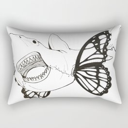 Teeth and wings Rectangular Pillow