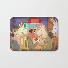 Poker Unicorn V02 Bath Mat
