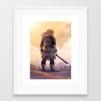 fili Framed Art Prints featuring Fili by MaliceZ