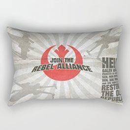 Join the Rebel Alliance Rectangular Pillow
