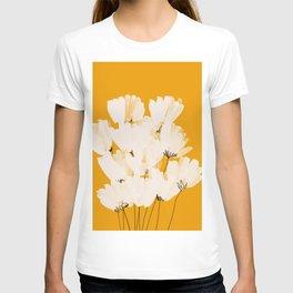 Flowers In Tangerine T-shirt
