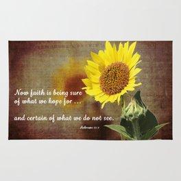 Faithful Sunflower Rug