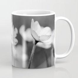 Anemone hepatica II - BW Coffee Mug