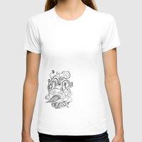 flora T-shirts featuring Flora by Julianne Ess
