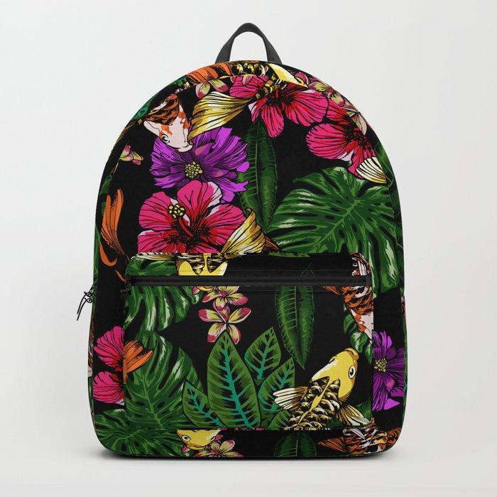 Tropical Koi Backpack