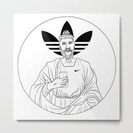 Millennial Jesus Metal Print