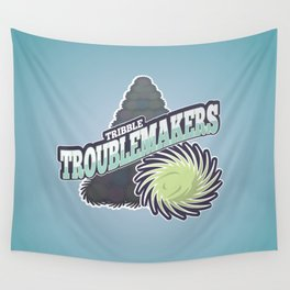 Tribble Troublemakers Wall Tapestry