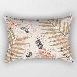 Winter Flourish Rectangular Pillow