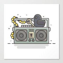 Music key Canvas Print