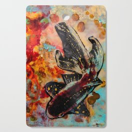 Ebb and Flow Koi Cutting Board