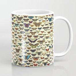 Vintage Dark Butterflies Collection Coffee Mug