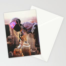 Trippin Over The City  Stationery Cards