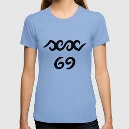 ambigram sex 69 T-shirt