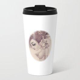 dearpain +Cold Audibility+ Metal Travel Mug