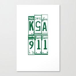 KSA Canvas Print