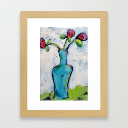 Spring Flowers 2 Framed Art Print