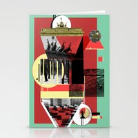 berlin Stationery Cards featuring Berlin. by Grant Pearce