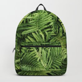 Fern Leaves Photography Backpack