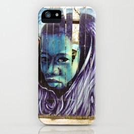 Kensington Street Art  iPhone Case