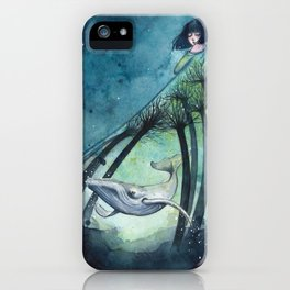 Ocean's lullaby iPhone Case