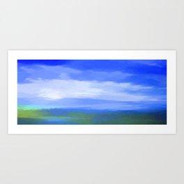 Landscape 2019 Art Print