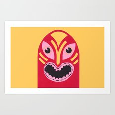 The Jolly Lucha Art Print