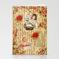 shabby chic Stationery Cards featuring Shabby Chic by Diego Tirigall