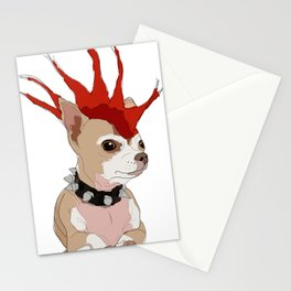 Bad Ass Chihuahua Stationery Cards