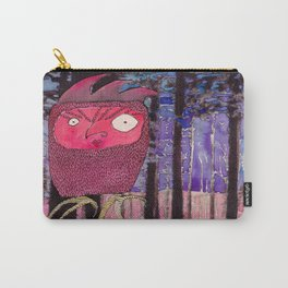 Ruby Owl Carry-All Pouch