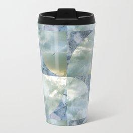 blue grey serendipity day Travel Mug
