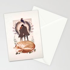 Fable of Mulder and Scully Stationery Cards