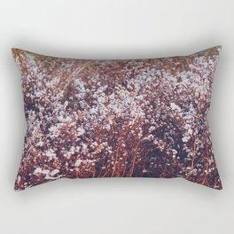 Final bloom Rectangular Pillow