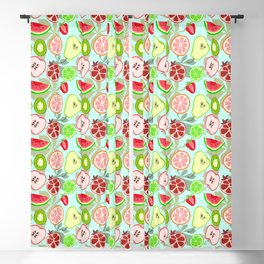 cut fruit Blackout Curtain