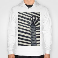 striped Hoodies featuring Striped by farsidian