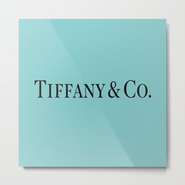 Tiffany Blue  Metal Print
