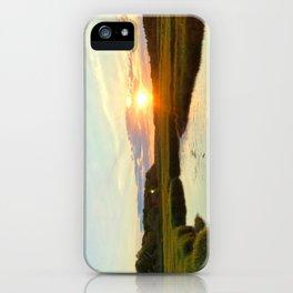 Sunset on Jones Road iPhone Case