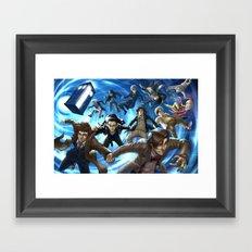 Doctor Whoever Framed Art Print