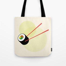 Veggie Sushi Roll Tote Bag