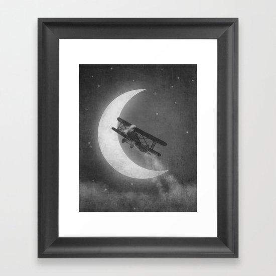 Night Flight  Framed Art Print