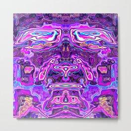 Pink man Metal Print