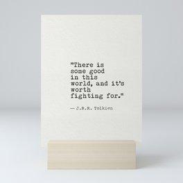 old quote JRR Mini Art Print